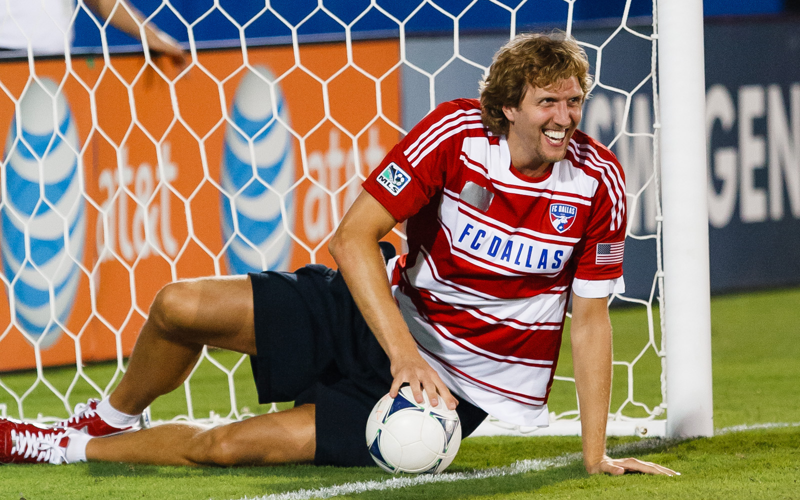 Dirk at FC Dallas